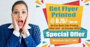 Flyer Printing in delhi ncr